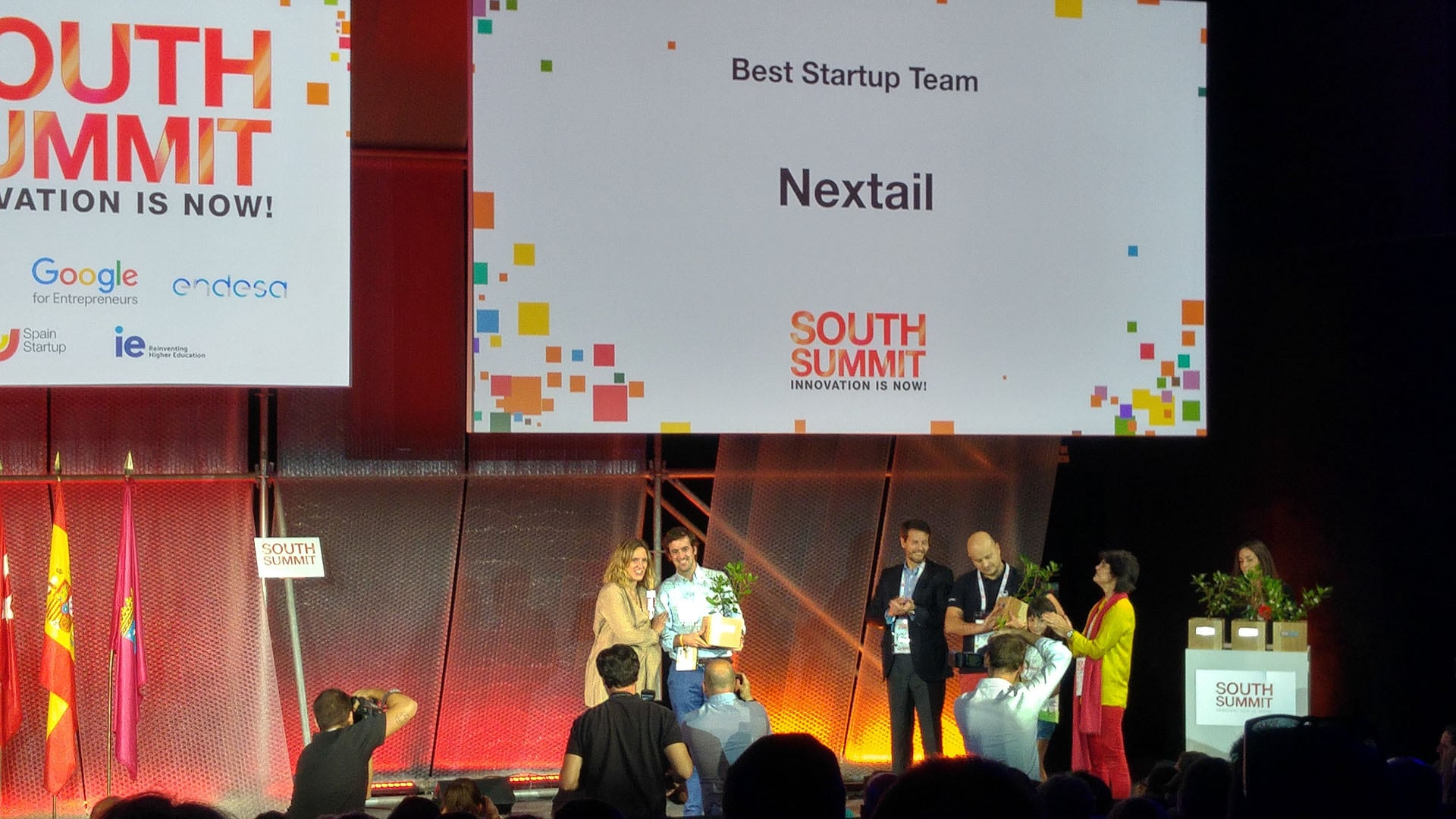 Nextail Best Team and Best Lifestyle & Fashion startup at South Summit