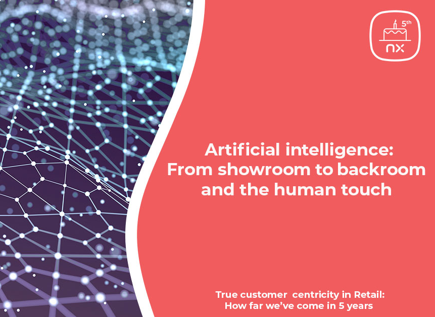 Part 5: Artificial intelligence: From showroom to backroom and the human touch
