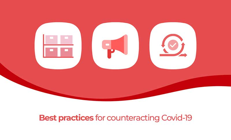 Best practices for counteracting Covid-19
