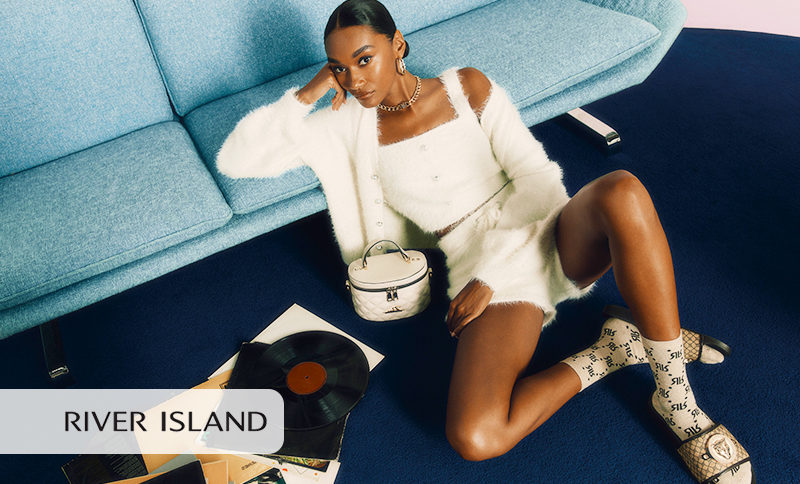 Girl from a River Island capaign