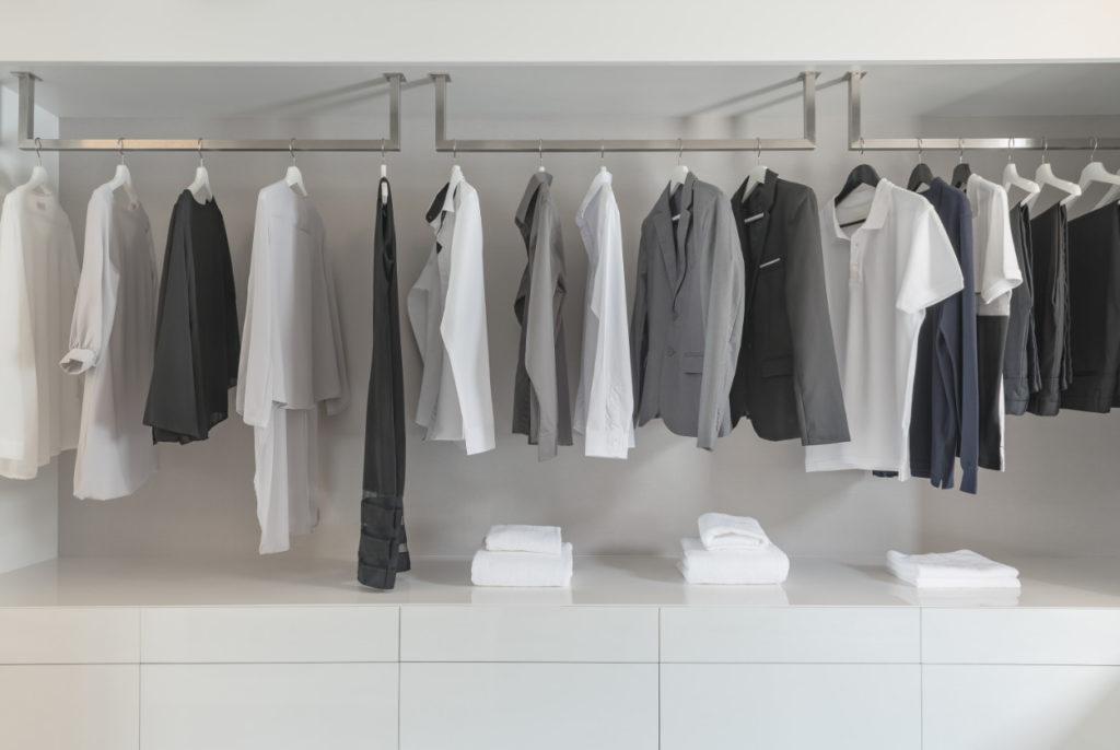 Clothes representing past data