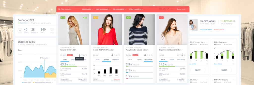 Nextail AI powered algorithmic merchandising for retailers